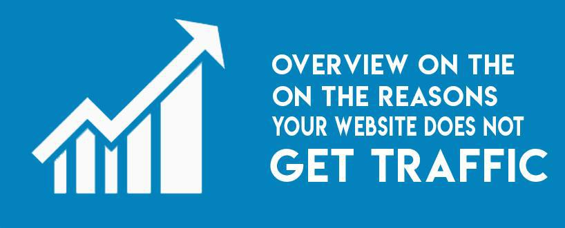 Overview on the Reasons Your Website Does Not Get Traffic