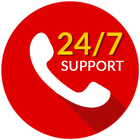 website vale 24x7 support